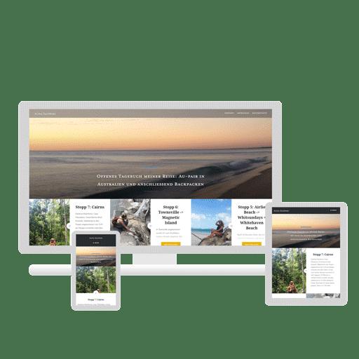 Webdesign - Referenz - Blog - Alina Salewski