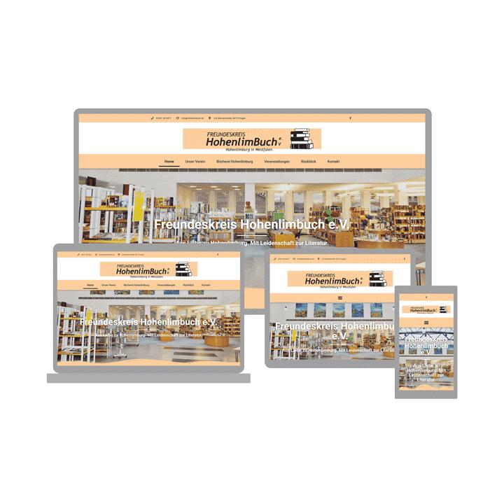 Webdesign - Referenz - Website - Freundeskreis Hohenlimbuch e.V.